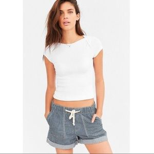 Urban Outfitters BDG Railroad Drawstring Shorts